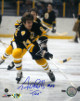 "Terry O'Reilly signed Boston Bruins Color 8X10 Photo ""TAZ"""