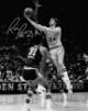 Rick Barry signed Golden State Warriors 8x10 B&W Vintage Photo