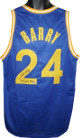 Rick Barry signed Blue TB Custom Stitched Basketball Jersey '75 Finals MVP (Size L)