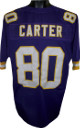 Cris Carter Purple TB Custom Stitched Pro Style Football Jersey XL