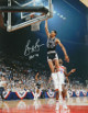 George Gervin signed San Antonio Spurs 8x10 Photo HOF 96 (Dunk vs Bullets)