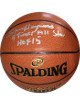 Spencer Haywood signed NBA Indoor/Outdoor Spalding Basketball dual 4 Times All Star/HOF 15 (SuperSonics/Knicks/Lakers-gold logo)