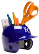 Kansas City Royals MLB Baseball Schutt Mini Batting Helmet Desk Caddy