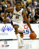 Rudy Gay signed Connecticut Huskies 8x10 Photo (dribbling)