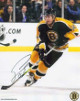 Sergei Samsonov signed Boston Bruins 8x10 Photo (black jersey)