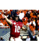 Eli Manning signed Ole Miss Rebels 16x20 Photo (2003 Cotton Bowl-red jersey)- Steiner Hologram