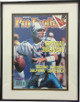Dan Marino signed Miami Dolphins 1991 Athlon Sports Magazine Cover Custom Metal Framing LTD Edition #26/100 - Upper Deck Holo