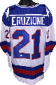 Mike Eruzione signed Team USA TB White Custom Jersey XL- JSA Witnessed Hologram (1980 Olympics vs Soviet Union)