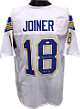 Charlie Joiner signed White TB Custom Stitched Pro Style Football Jersey HOF 96 XL- JSA Hologram