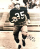 Bill Dudley signed Pittsburgh Steelers 16x20 Vintage Sepia Photo dual Bullet & HOF 66 (black sig)