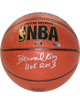 Bernard King signed Indoor/Outdoor NBA Spalding TB Basketball HOF 2013- Steiner Hologram (Silver sig-New York Knicks)