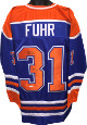 Grant Fuhr signed Blue TB Custom Stitched Hockey Jersey #31 HOF 03 XL- JSA Hologram
