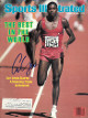 Carl Lewis signed Team USA Sports Illustrated Full Magazine 8/22/1983 (1983 World Championships)