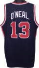 Shaquille O'Neal signed Team USA Olympic Gold Dream Team Navy Custom Stitched Basketball Jersey #13 XL- JSA Hologram