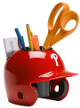 Philadelphia Phillies MLB Baseball Schutt Mini Batting Helmet Desk Caddy