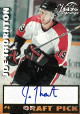 Joe Thornton signed 1997 Draft Pick Scoreboard Visions Signings Hockey Card