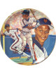 "Darryl Strawberry signed New York Mets Gartlan USA ""Dar-ryl"" Ceramic Plate Limited to 10000 by Michael J. Taylor"