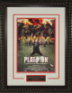 Platoon 20x28 Masterprint Movie Poster Custom Rope Framing Oliver Stone, William Dafoe, Tom Berenger, Charlie Sheen
