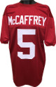 Christian McCaffrey Red Custom Stitched College Style Football Jersey XL