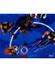 Karl-Anthony Towns signed Minnesota Timberwolves 8x10 Photo (top view)- Steiner Hologram (dunk vs Hawks)