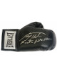 Larry Holmes signed Everlast Right Black Boxing Glove Easton Assassin