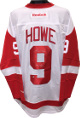Gordie Howe signed Detroit Red Wings White Reebok Premiere Licensed Jersey XL Mr Hockey- JSA Hologram #DD39034