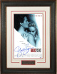 Sharon Stone signed Basic Instinct 11x17 Movie Poster Premium Leather Framing- PSA Hologram (entertainment/movie memorabilia)