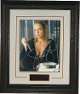 Sharon Stone signed Basic Instinct 2 11x14 Photo Premium Leather Framing - PSA ITP Hologram (Holding Ice Pick)