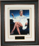 Sharon Stone signed Basic Instinct 11x14 Photo Premium Leather Framing - PSA Hologram - Famous Leg Crossed