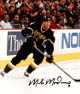 Mike Modano signed Dallas Stars 8x10 Photo #9 (black jersey skating)