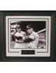 Joe DiMaggio & Mickey Mantle New York Yankees 11X14 Photo Premium Leather Framing V-Groove Matting
