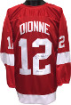 Marcel Dionne signed Red TB Custom Stitched Hockey Jersey HOF 92 XL- JSA Hologram