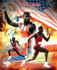 Carl Lewis signed Team USA 8x10 Photo Collage - JSA Hologram (Olympics)