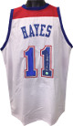 Elvin Hayes signed White TB Custom Stitched Pro Style Basketball Jersey XL- JSA Hologram