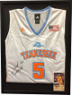 Ariel Massengale signed Tennessee Lady Volunteers Adidas White Rep Jersey #5 Custom Framing 19x25 w/ Photo (Women's Basketball)