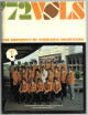 Tennessee Volunteers 1972 Football Media Guide/Program - Very minor cover wear