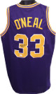 Shaquille O'Neal signed Purple TB Custom Stitched College Basketball Jersey XL- JSA Hologram
