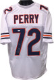 William Perry signed White TB Custom Stitched Pro Style Football Jersey- JSA Hologram