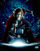 Chris Hemsworth signed Thor- Marvel's The Avengers 11x14 Photo (vertical- with hammer)- Beckett Holo #C88553
