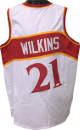 Dominique Wilkins signed White TB Custom Stitched Basketball Jersey XL- JSA Hologram