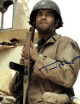 Tom Hanks signed Saving Private Ryan 11x14 Photo (Vertical with Gun)- Beckett Holo #C88973