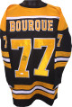 Ray Bourque signed Black TB Custom Stitched Hockey Jersey #77- JSA Witnessed Hologram
