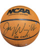 Jay Wright signed Wilson NCAA Indoor/Outdoor Basketball Go Cats! (Villanova Wildcats- 2X National Champs)- Steiner Hologram