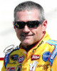 Bobby Labonte signed NASCAR Cheerios 8x10 Photo (close up)