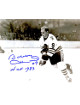 Bobby Hull signed Chicago Blackhawks B&W 8x10 Photo #9 HOF 1983 (skating)
