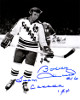 Bobby Hull signed Team Canada Vintage B&W 8x10 Photo #16 Team Canada 74