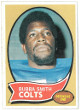 Bubba Smith Baltimore Colts 1970 Topps Football Rookie Trading Card #114