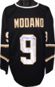 Mike Modano signed Black TB Custom Stitched Pro Hockey Jersey #9 XL- JSA Hologram