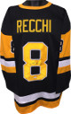 Mark Recchi signed Black TB Custom Stitched Pro Hockey Jersey #8 XL- JSA Hologram