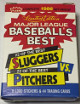 1986 Fleer Baseball's Best Sluggers vs. Pitchers Trading Card Set